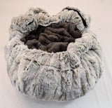 Silver Fox & Grey Mink Travel Bed/Blanket