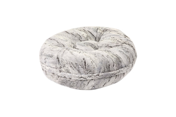 Grey Gator Bagel Bed