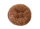 Capuccino Mink Bagel Bed