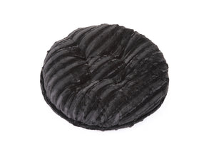Black Mink Bagel Bed
