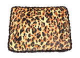 Big Cat & Black Mink Rectangle Bed