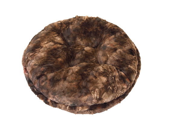 Brown Rabbit Bagel Bed
