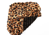 Big cat & Black Mink Blanket