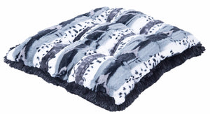 Exotic Black/Grey Pillow Bed
