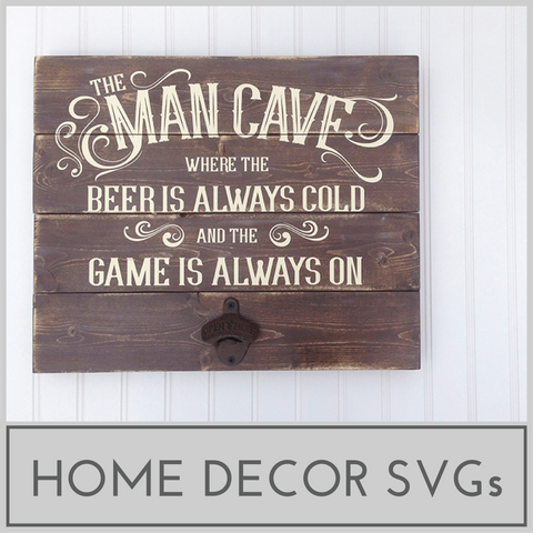 Home Decor SVG Files