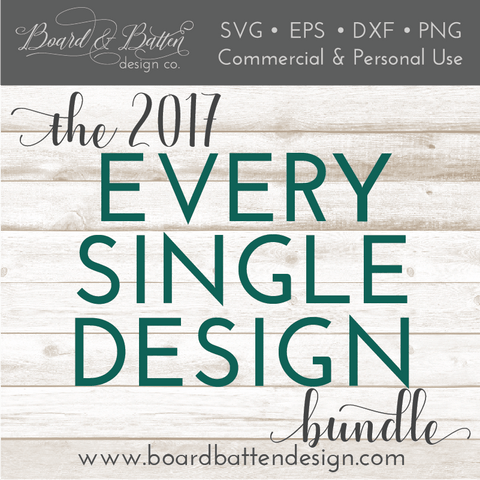 The 2017 SVG Design Bundle