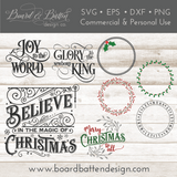 Christmas & Holiday SVG Bundle - Commercial Use SVG Files