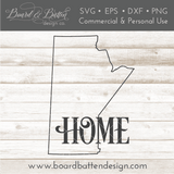 "Manitoba MB  ""Home"" Outline SVG File - Canadian Province - Commercial Use SVG Files"