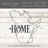 "Quebec QC  ""Home"" Outline SVG File - Canadian Province - Commercial Use SVG Files"