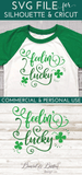 Feelin' Lucky SVG File - Commercial Use SVG Files