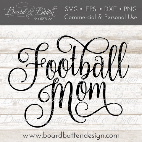 Football Mom SVG File