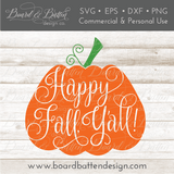 The Fall & Autumn Bundle - Commercial Use SVG Files