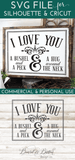 I Love You A Bushel And A Peck SVG File - Commercial Use SVG Files