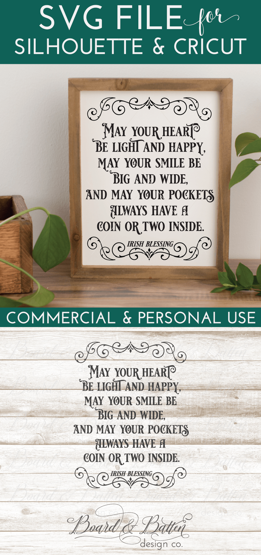 Get Irish Blessing – Svg, Png & Vector Cut File Image