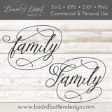 Family SVG File - Commercial Use SVG Files