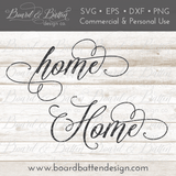 Home SVG File - Commercial Use SVG Files