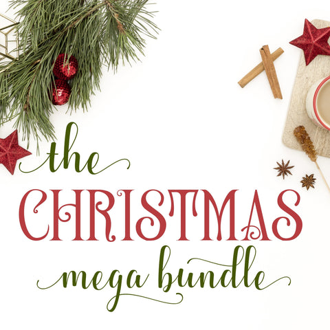Christmas & Holiday SVG Bundle