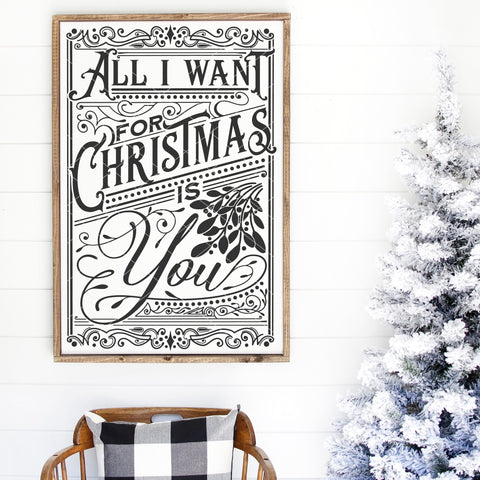All I Want For Christmas is You SVG File