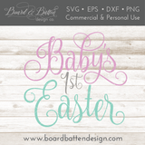 Baby's First Easter SVG File - Commercial Use SVG Files