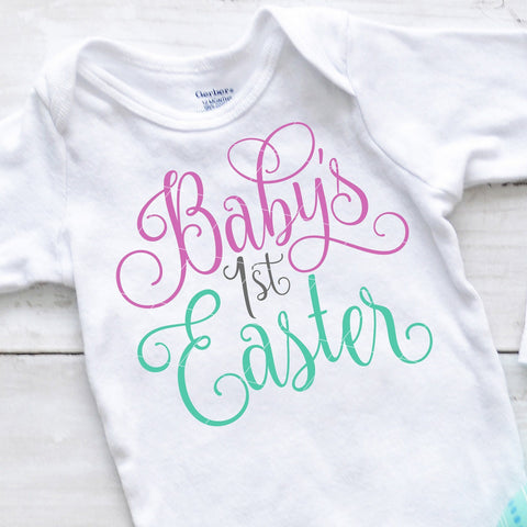 Baby's First Easter SVG File
