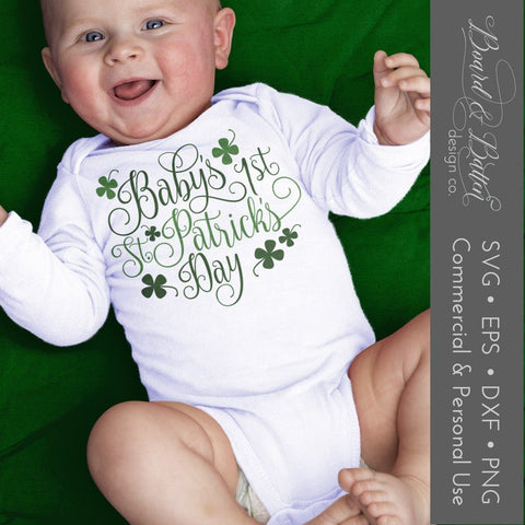 Baby's First St Patrick's Day