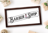 Vintage Barber Shop SVG File - Commercial Use SVG Files