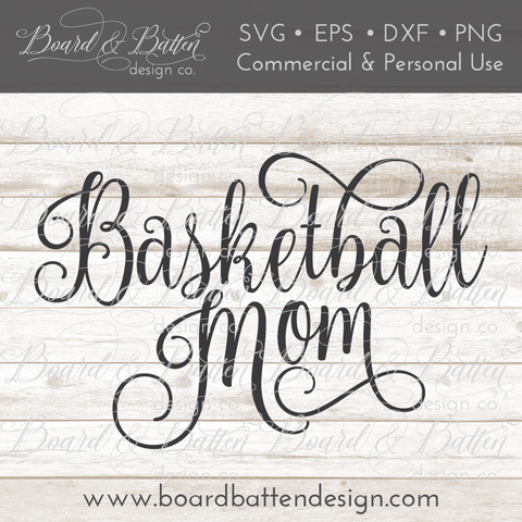 Basketball Mom SVG File