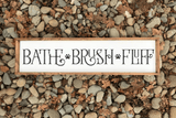 Bathe Brush Fluff Farmhouse SVG File - Commercial Use SVG Files