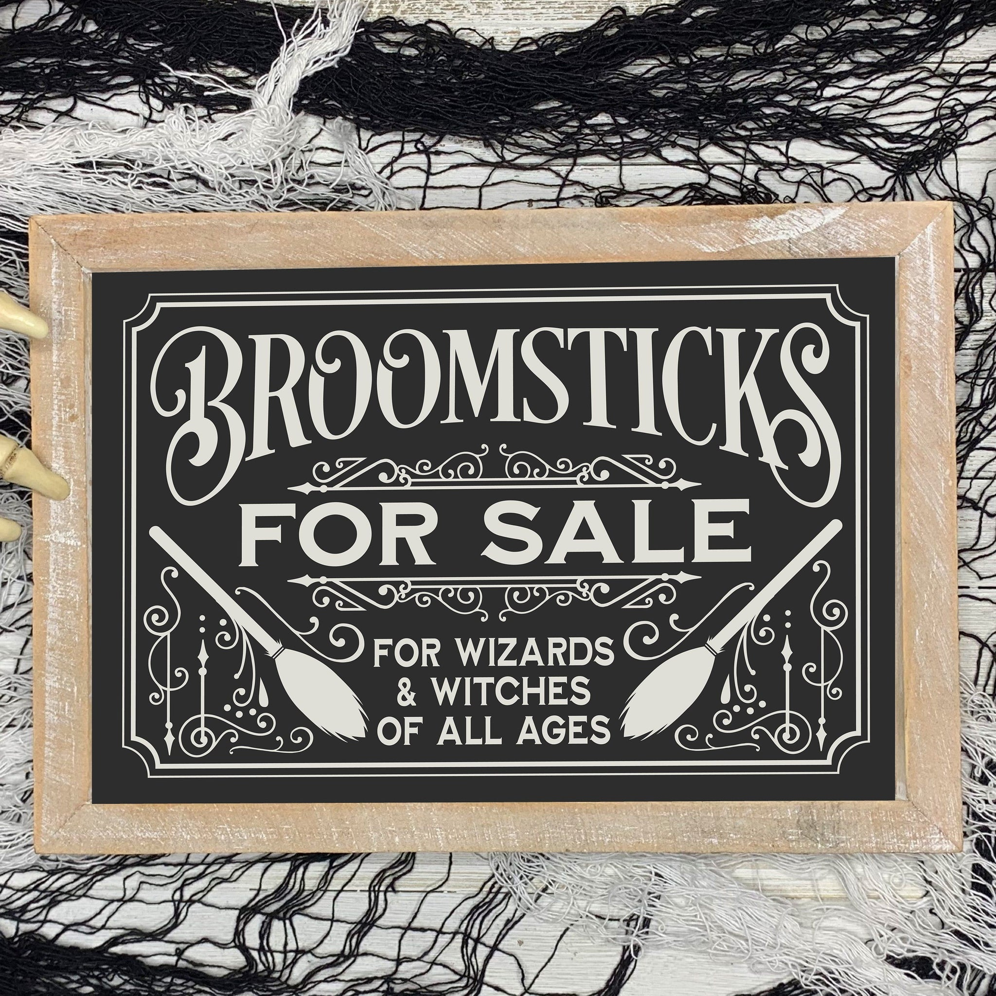 Broomsticks For Sale SVG File for Halloween