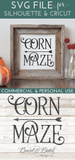 Farmhouse Corn Maze Arrow SVG file - Commercial Use SVG Files