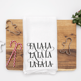 Fa La La La La SVG File for Christmas