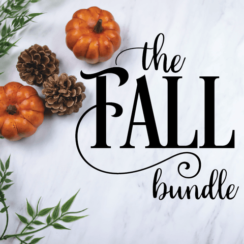 The Fall & Autumn Bundle with LIFETIME updates