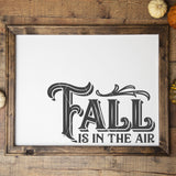 Fall Is In The Air SVG File for Autumn - Commercial Use SVG Files