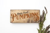 Farm Fresh Pumpkins SVG File - Commercial Use SVG Files