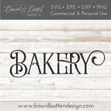 Farmhouse Bakery SVG File - Commercial Use SVG Files