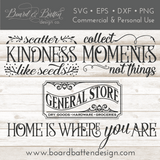 Farmhouse Style Mega SVG file Bundle with LIFETIME updates