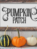 Farmhouse Pumpkin Patch SVG File - Commercial Use SVG Files