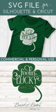 Feelin' Lucky Shamrock SVG - Commercial Use SVG Files