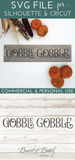 Gobble 'Till You Wobble SVG File - Commercial Use SVG Files