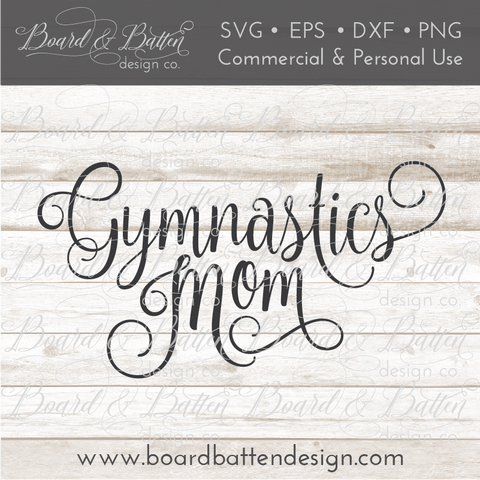 Gymnastics Mom SVG File