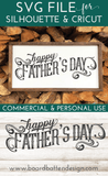 Happy Father's Day SVG File - Commercial Use SVG Files