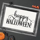 Happy Halloween 2 SVG File - Commercial Use SVG Files