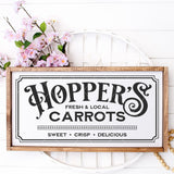 Hopper's Carrots Vintage Style SVG File - Commercial Use SVG Files