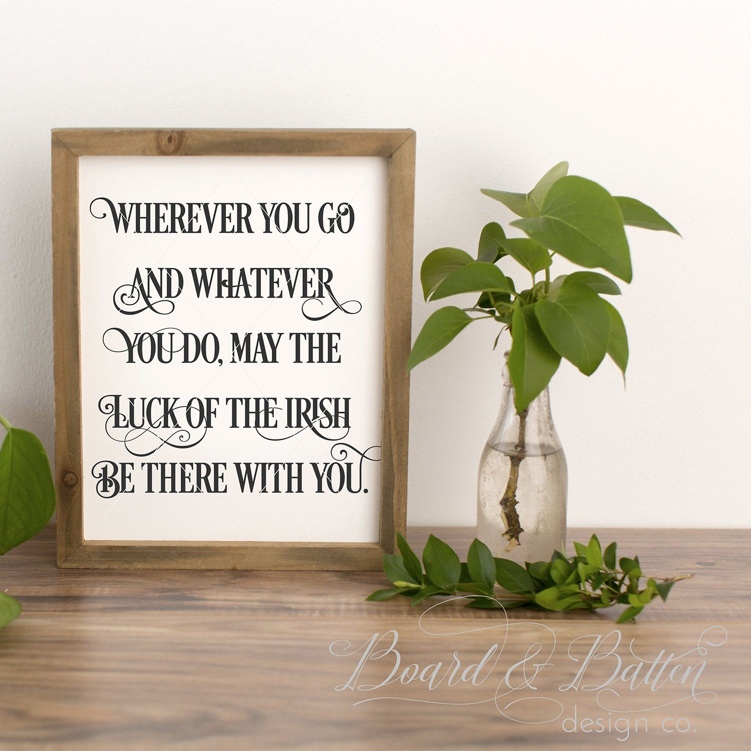 Wherever You Go Irish Proverb SVG - Commercial Use SVG Files