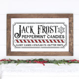 Vintage Jack Frost Peppermint Candies SVG File - 12x24 - Commercial Use SVG Files