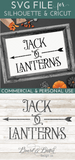Jack O Lanterns Arrow SVG File - Commercial Use SVG Files