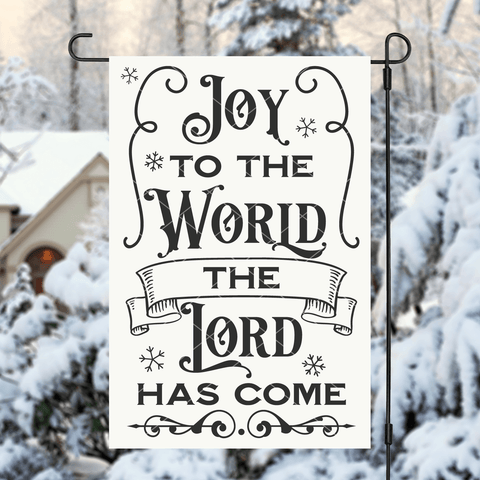 Joy To The World The Lord Has Come SVG File for Christmas
