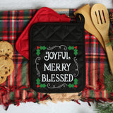Joyful Merry Blessed SVG File - Commercial Use SVG Files