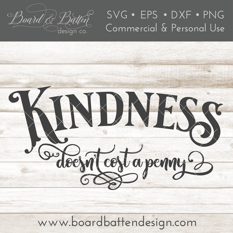 Kindness Quote SVG File