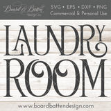 Laundry Room SVG File - Commercial Use SVG Files